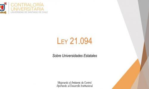 Ley 21.094 sobre Universidades Estatales